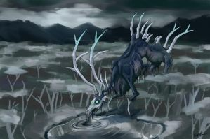 Death Stag by Chewilicious