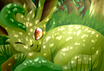 Leafeon by SkittyStrawberries