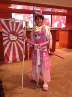 NDK - Hello Kitty Samurai by dawnflower8