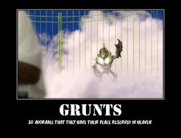 Grunts Desmotivational by Lopez-The-Heavy