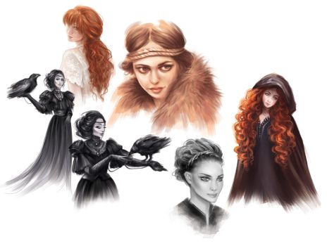 Sketches collection by Dzydar
