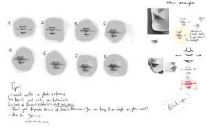 Wannabe lip tutorial #2 by monobani