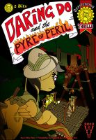 Daring Do and the Pyre of Peril Cover by WarrenHutch