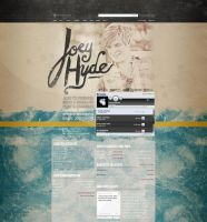 Myspace: Joey Hyde by stuckwithpins