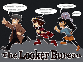 The Looker Bureau - We Fight Crime by Mikaces