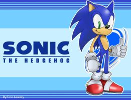 Sonic-Wallpaper by ss2sonic