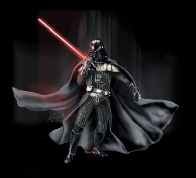 DARTH VADER by PIXEL-Of-DOOM
