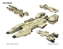 GDI Kodiak_WIP by HeavyMetalDesigner