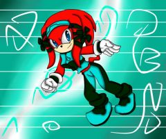 Ache the Echidna by BkSonic