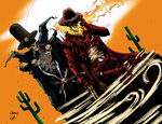 Gunslinger Spawn and Western Ghost Rider by AudreyGally