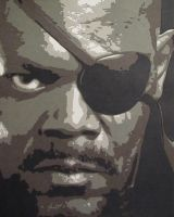 Nick Fury by Papergizmo