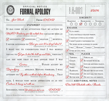 Formal Apology by denahzi