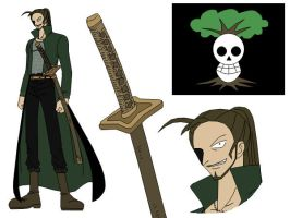 One Piece OC Gazapo D. Beytle by DemonKun