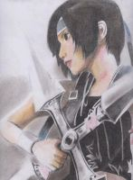 Yuffie Faber Pencil by Amanoobaricom