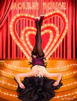 Moulin rouge by Mervilina