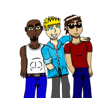 The Gang - Thomas n Zack and Devin by CatDasher