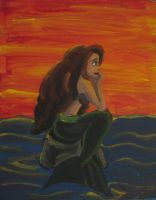 The Little Mermaid by Kasandra-Callalily