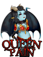 Dota 2 :: Queen Of Pain by Mewi1
