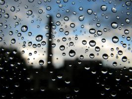 Drops on the window by a1ra