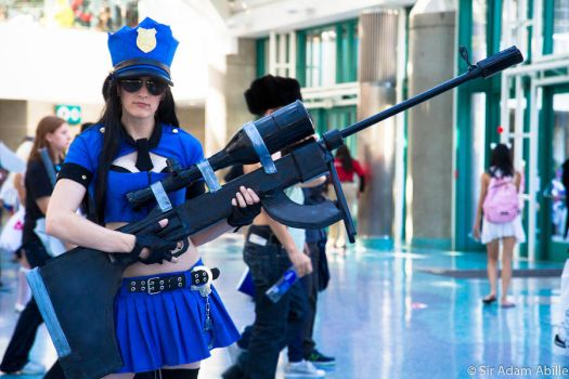 Officer Caitlyn by Vash-Fanatic