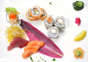 sushi and sashimi by aperture24