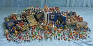 Super Mario Statues - Systems by Lepus-Marj