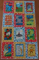 Lorax Baby Quilt by quiltoni