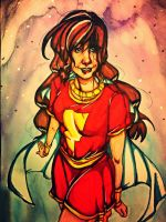 Mary Shazam (colored) by aliceofhearts1129