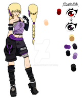 New Naruto OC: Mojira by Dat-Jojo