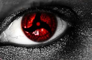 Itachi Mangekyou Sharingan 2 by MeanDarkSmile