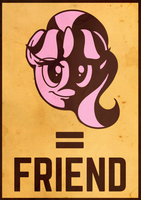 Starlight Glimmer = Friend by Perrydotto