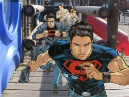 Superboy Transformation by JoPat