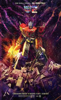 iam8bit sequel transformers: the movie 2 by m7781