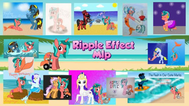 Ripple Effect YouTube Channel Banner  by ZDoso