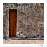 The narrowest door... by Michel-Lag-Chavarria