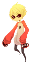 Tiny Dave Strider by Monksea