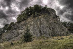 basalt rock by pilgrimx