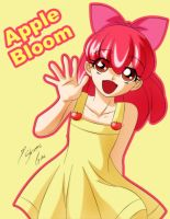 Apple Bloom Humana by Shinta-Girl