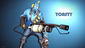 Toasty's Pyro Loadout by lovelyangie23