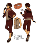 PM Outfits Ref 2: Mercury by ROSEL-D