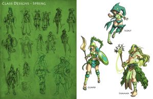 SS2 Characters Spring by Quirkilicious