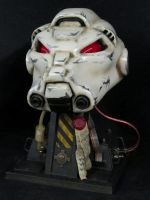Terminator Tactical Dreadnought Helmet by thorssoli