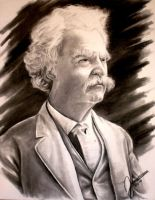 Mark twain by JamesMarsano