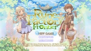 Rune Factory Frontier - HD 4 by jackharvest1