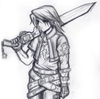 Squall Leonhart by Lemia