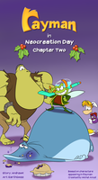 Rayman in Neocreation Day - Chapter Two title page by EarthGwee