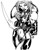 What blade? INKED by stalk