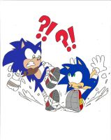 Sonic Boom: Two of Me!? Colored Version by Sonicdude645