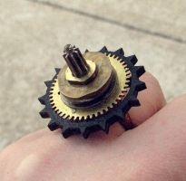 Industrial Blossom Ring by asunder