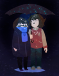 Constellations Umbrella by Mister-Pototo